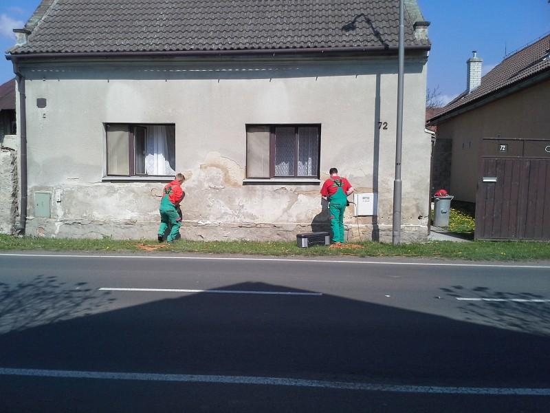 Sanace zdiva Brno 1