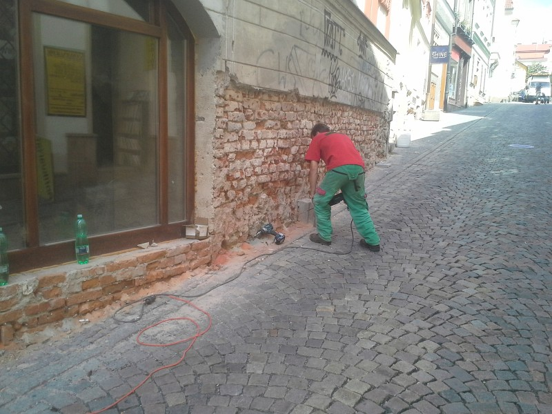 Sanace zdiva Brno 7